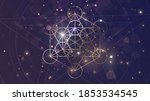 golden sacral symbol of...   Shutterstock .eps vector #1853534545