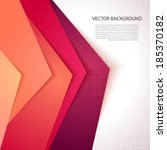 abstract background with...   Shutterstock .eps vector #185370182