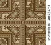 vector. borders set | Shutterstock .eps vector #185371745