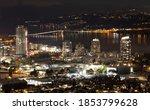 City Of Kelowna At Night ...
