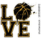 """i love basketball""    suitable ... 