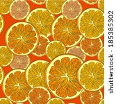 healthy food  background. orange | Shutterstock .eps vector #185385302