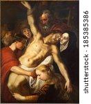 antwerp  belgium   september 4  ... | Shutterstock . vector #185385386