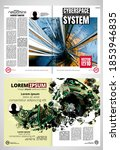 layout with abstract technology ... | Shutterstock .eps vector #1853946835