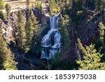 Undine Falls Waterfall In...