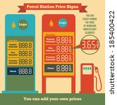 Petrol Station Price Signs...