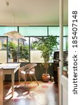 comfortable kitchen  interior...   Shutterstock . vector #185407148