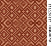 kilim bohemian seamless... | Shutterstock .eps vector #1854077515