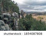Beautiful Sandstone Rocks Of...