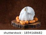 Fall Harvest  White Ceramic...