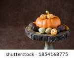 Fall Harvest  Orange Ceramic...