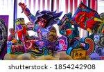aomori  japan  october 31  2020 ... | Shutterstock . vector #1854242908