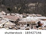 Remains Of A House Destroyed B...