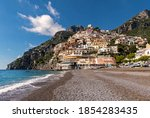 View Over The Town Of Positano...
