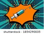 medical disposable syringe... | Shutterstock .eps vector #1854290035