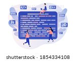 programming and engineering...   Shutterstock .eps vector #1854334108