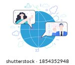 medical insurance   online...   Shutterstock .eps vector #1854352948