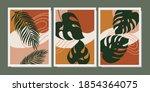set of creative minimalist hand ... | Shutterstock .eps vector #1854364075