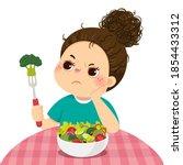 vector illustration cartoon of...   Shutterstock .eps vector #1854433312