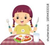 vector illustration cartoon of... | Shutterstock .eps vector #1854433318