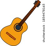 icon of acoustic guitar....