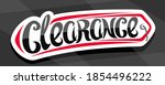 vector banner for clearance... | Shutterstock .eps vector #1854496222