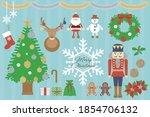 cute illustration set of... | Shutterstock .eps vector #1854706132