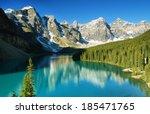 Lake Moraine  Banff National...