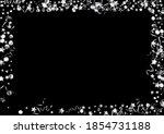 silver confetti swirl vector... | Shutterstock .eps vector #1854731188
