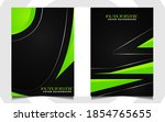 abstract futuristic cover a4... | Shutterstock .eps vector #1854765655