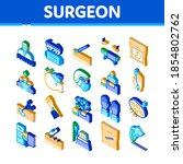 surgeon medical doctor icons...   Shutterstock .eps vector #1854802762