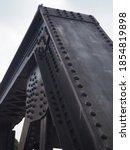 Old Iron Black Railway Bridge