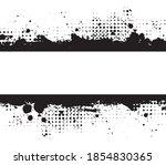 abstract grunge dirty banner...   Shutterstock .eps vector #1854830365