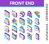 front end development icons set ...   Shutterstock .eps vector #1854844402