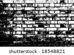 silhouette of brick wall. vector | Shutterstock .eps vector #18548821