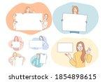 demonstration  promotion ...   Shutterstock .eps vector #1854898615