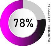 78  circle percentage diagrams  ...
