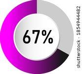 67  circle percentage diagrams  ...