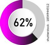 62  circle percentage diagrams  ...