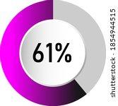 61  circle percentage diagrams  ...