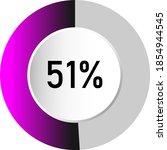 51  circle percentage diagrams  ...