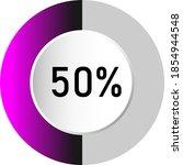 50  circle percentage diagrams  ...