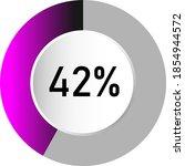 42  circle percentage diagrams  ...