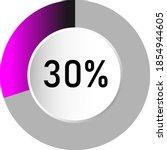 30  circle percentage diagrams  ...