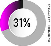31  circle percentage diagrams  ...