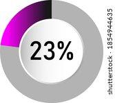 23  circle percentage diagrams  ...