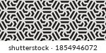 pattern with monochrome bold... | Shutterstock .eps vector #1854946072