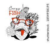 Crazy Fish In The Red Glasses...