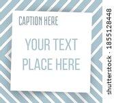 paper square sticker on... | Shutterstock .eps vector #1855128448