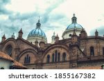 Detail Of The Blue Domes Of The ...